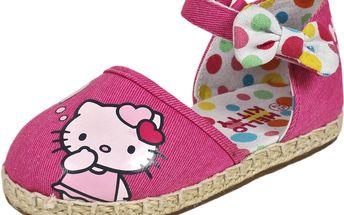 Dívčí sandály Hello Kitty - růžové