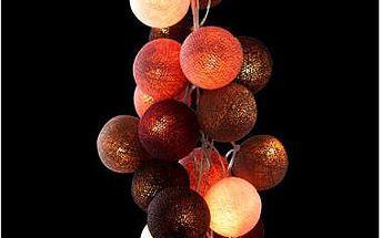 Světelný řetěz Mocha Amore, 35 ks světýlek