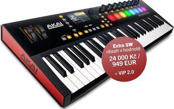USB / MIDI keyboard, 61 kláves Akai Advance 61
