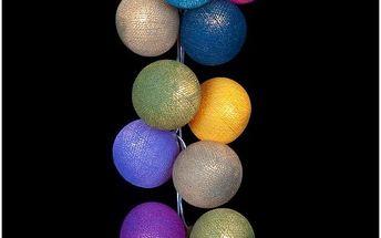 Světelný řetěz Mexican, 35 ks světýlek