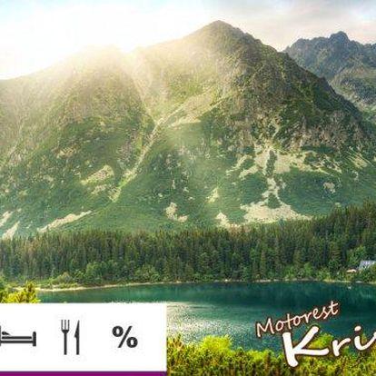 Vysoké Tatry – dovolená s polopenzí