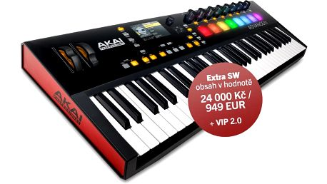 USB / MIDI keyboard, 61 kláves Akai Advance 61