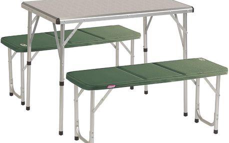 COLEMAN Pack-Away stůl pro 4 rozkládací set
