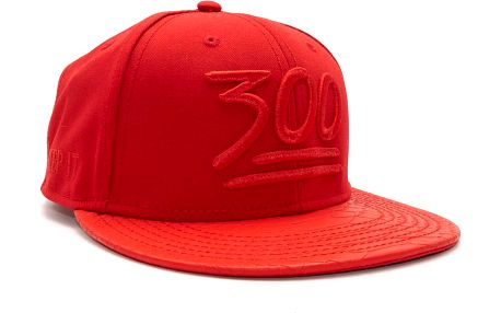 Kšiltovka Cayler & Sons Black Label 3 Hunna Red Snapback