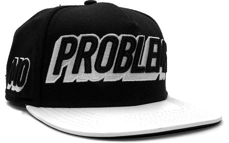 Kšiltovka Cayler & Sons Black Label Mo Money Black/White Snapback