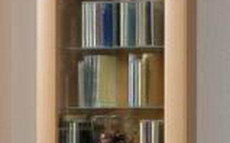 Dřevěná vitrína BORA 9