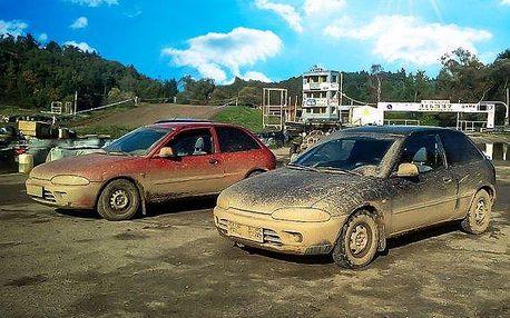 Autocross na profi okruhu v Sedlčanech