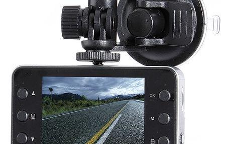 Záznamová onboard kamera do auta ve tvaru fotoaparátu - full HD rozlišení 1080P