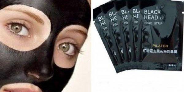 2x Black mask slupovací pleťová maska - zbavte se černých teček a nečistot!