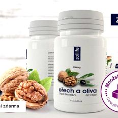 Ořech a oliva – doplněk stravy pro podporu organismu