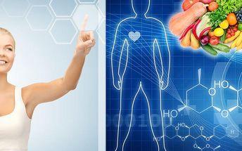 Komplexní tělesná analýza, analýza jídelníčku a konzultace s výživovým poradcem ve Studiu Wellness!