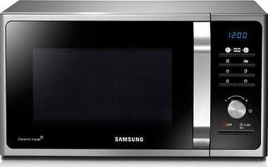 Mikrovlnná trouba Samsung Muse3 MG23F301TAS/EO černá/stříbrná