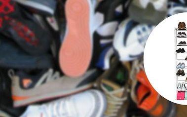 Ultralehký regál až na 30 párů bot