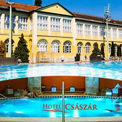 Wellness v 3* hotelu Császár v centru Budapešti