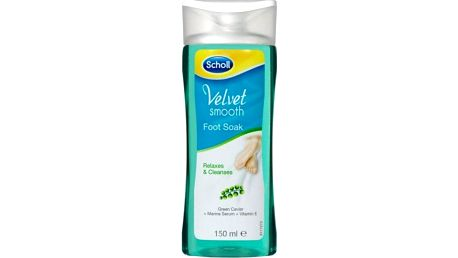 Scholl Velvet Smooth Koupel na nohy 150 ml