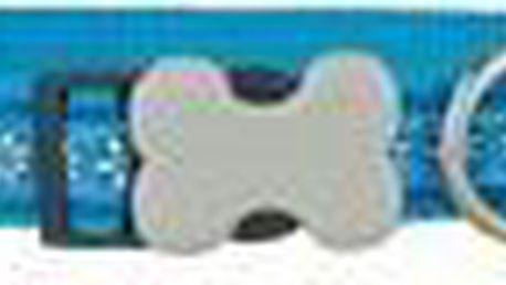 Obojek 20 - 32 cm - Daisy Chain Turquoise