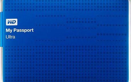 Externí disk WD My Passport Ultra 1TB USB 3.0 Modrý (WDBZFP0010BBL-EESN)