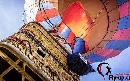 Vyhlídkový let v horkovzdušném balonu – nepřekonatelný zážitek na celý život!