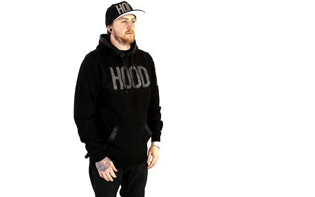 Mikina s kapucí Cayler & Sons Black Label Hood Love Long Hoody