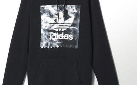 Pánská mikina Adidas originals Burned Stamp Hd Black, černá, S