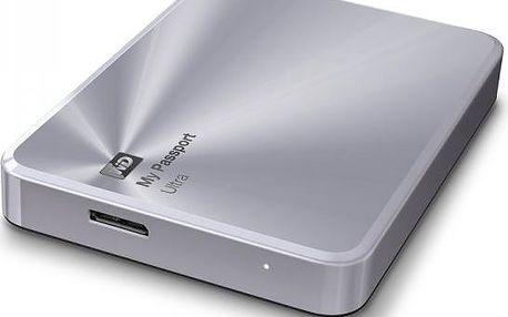 Disk WD My Passport Ultra 2TB Metal stříbrný (WDBEZW0020BSL)