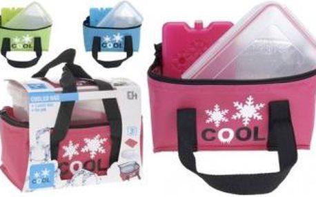 Sada chladící tašky, vložky a svačinové krabičky ProGarden