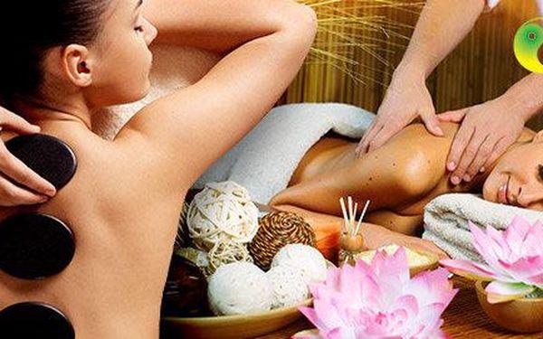 60 minut exotické masáže celého těla