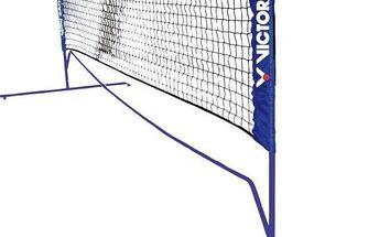 Victor Mini Badminton net - 3 nastavitelné výšky černá