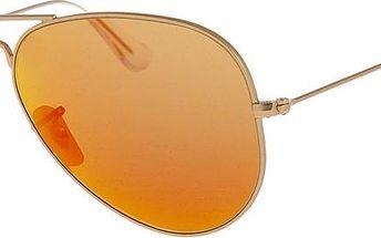 Unisex sluneční brýle Ray-Ban RB3025 Red Mirror/Gold 58 mm - doprava zdarma!