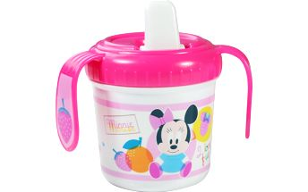 Tréninkový hrneček Disney Minnie, růžový