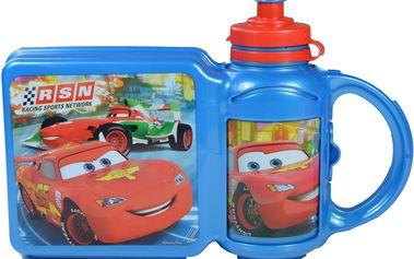 Sada sendvič boxu a lahve Disney Cars