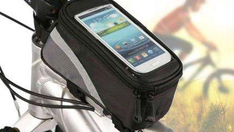 CykloTIP: Voděodolné pouzdro na smartphone na rám kola