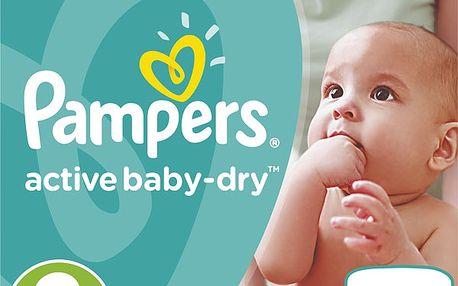Pampers Active Baby-dry vel. 3 Midi, 108ks