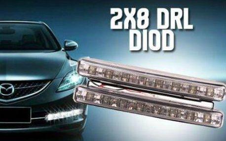 Jezďěte bezpečně! Přídavná DRL světla pro váš vůz