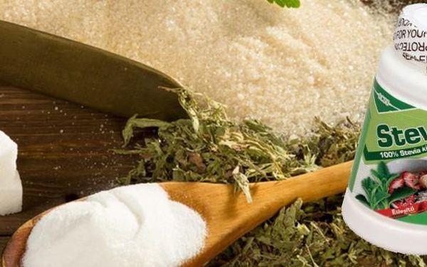 Stevia prášek 20g - zdravé sladidlo z něhož NEPŘIBERETE