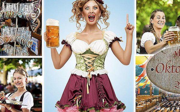Celodenní zájezd na Oktoberfest 2015 pro 1 osobu - nejslavnější festival piva v Mnichově!!