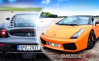 Adrenalinová jízda v LAMBORGHINI GALLARDO, FERRARI F430, ARIEL ATOM, HUMMERU H1 a jiných bourácích!