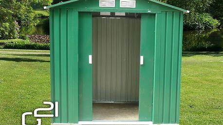 G21 Zahradní domek GAH 327 191 x 171 cm, zelený