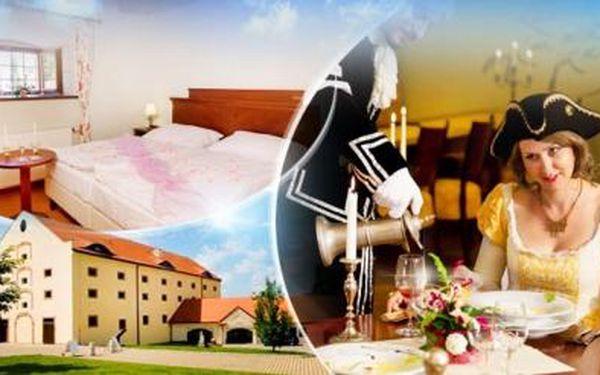 PRAHA! Relaxační pobyt ve 4* Zámeckém Hotelu Ctěnice na 2 či 3 dny pro DVA s WELLNESS a romantickou večeří!