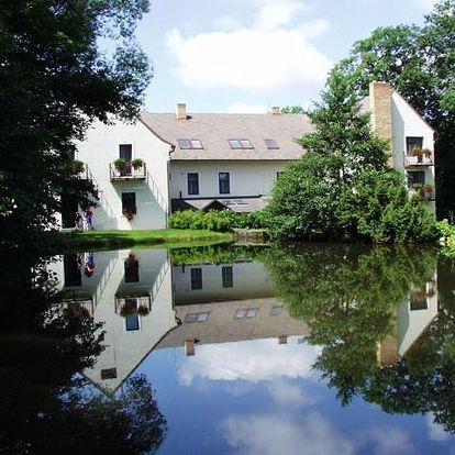 Hotel Moravia - Lasákův mlýn - Boskovice, Česká republika, vlastní doprava, strava dle programu