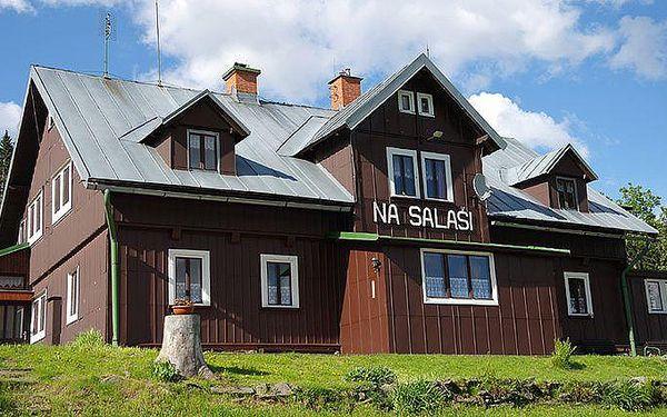 Až 6denní pobyt v apartmánu Na Salaši pro 3 osoby v Krkonoších
