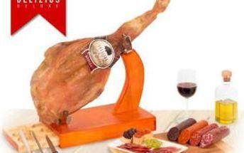 Luxusní španělská šunka Jamón Serrano nebo celý balíček!