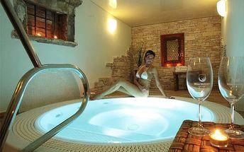 Luxusní wellness pobyt s polopenzí na Moravě!