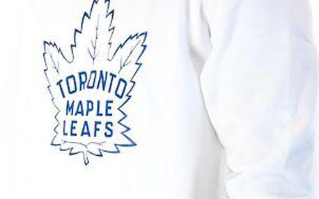 Mikina Mitchell & Ness Toronto Maple Leafs Team Logo Crewneck