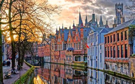 To nejlepší z Belgie (Bruggy, Waterloo, Brusel) v poznávacím zájezdu na 5 dní