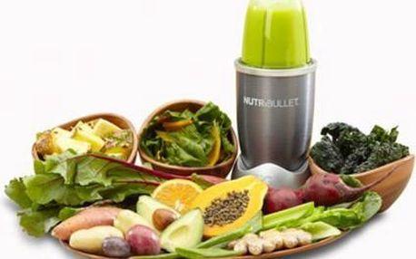 Smoothie každý den: Výkonný smoothie maker NutriBullet