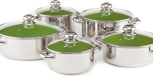 KOLIMAX CERAMMAX PRO STANDARD sada nádobí 10 dílů, zelená