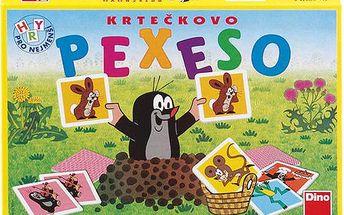 Velké Krtečkovo pexeso - klasická hra