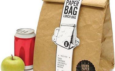 Termo sáček na svačinu Paper Bag - udržte své jídlo v teple!