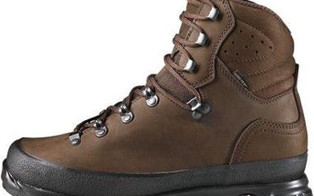 Pánské kožené trekové boty Hanwag Nazcat GTX Erde Brown